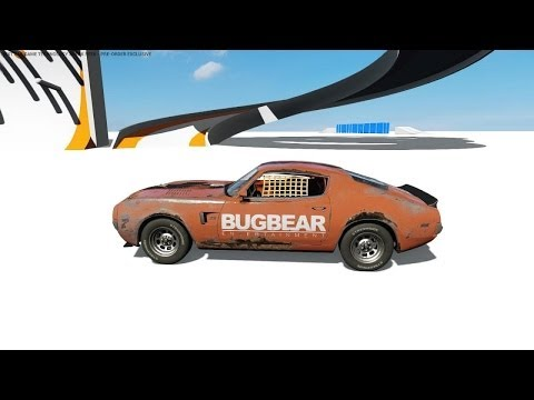 Next Car Game (FlatOut) Physics Descruction Derby - Bugbear...