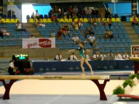 Victoria Komova - Gent CC 2011 - Qualifications BB