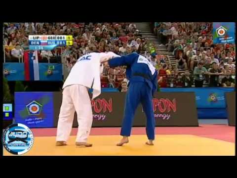 European Judo Championship Budapest 2013 Final -90kg LIPARTELIANI (GEO) - DENISOV Kirill (RUS)