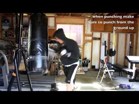 Punching Bag Workout Interval Image 1