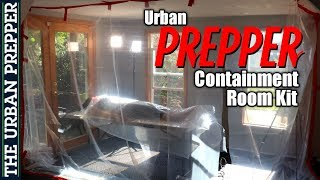 DIY Containment Room Kit (aka Dexter Kill Room)