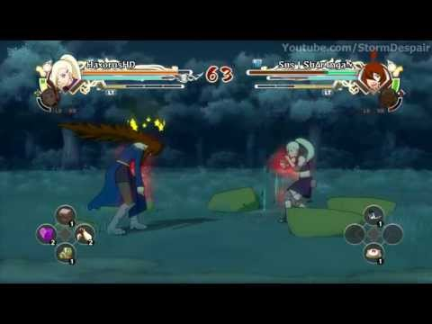 Naruto Generations Ino Vs Sakura video