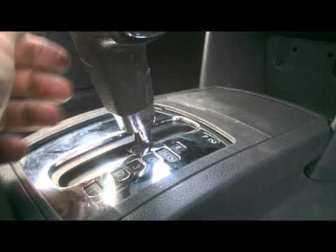 VW Polo 2005 Auto gear knob removal