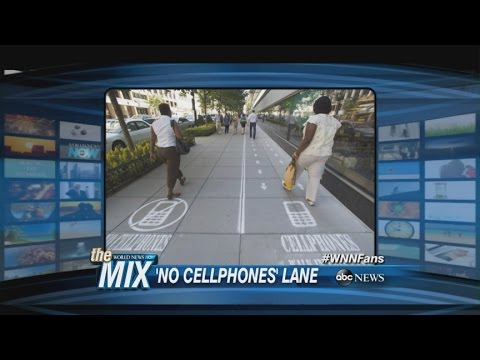 MIX: Designated Cell Phone Lanes?