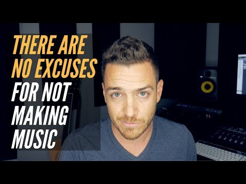 There Are No Excuses For Not Making Music Anymore - RecordingRevolution.com
