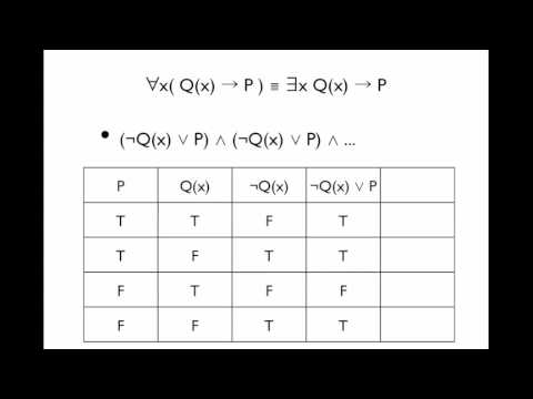 Equivalency with Quantifiers and Validity Discrete Math EECS203 Group B10
