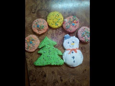 Печенье на Новый Год. Рецепт от Даши Мо.