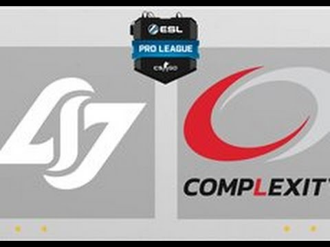 CS:GO - CLG Vs. CompLexity [Train] Map 2 - ESL Pro League Season 4 - NA Matchday 22