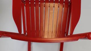 penrose wood rocking chair no67s Dixie Seating Features Video