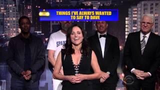 David Letterman's Final Show