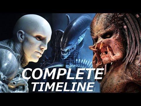 Predators Engineers & Aliens -  COMPLETE Timeline