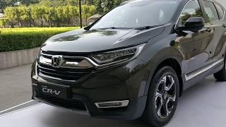 5 Unique Features of Honda CRV 2018 India | Walkaround | MotorOctane