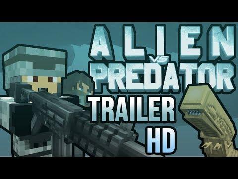 Alien vs Predator Minecraft Mod Official Trailer 2 [HD]