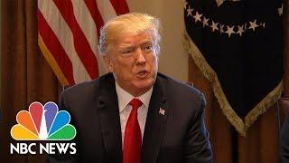 President Donald Trump Announces New Tariffs On Steel And Aluminum Imports | NBC News