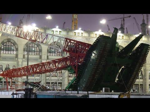 Mecca crane collapse 11.09.2015.