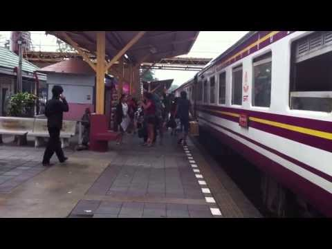 Trip to Phuket – Ep. 2: Taking the Train and Bus in Thailand