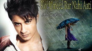 """download lagu """"koi Umeed Bar Nahi Aati""""  Ali Zafar  gratis"""