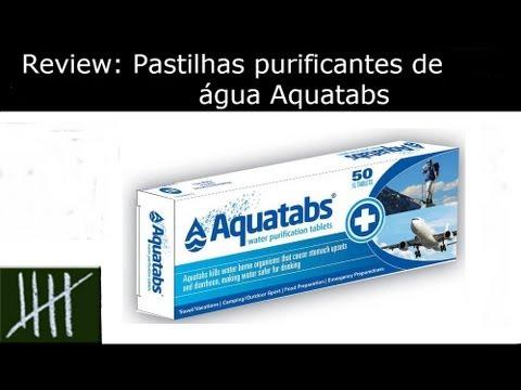 Review: Pastilhas purificantes de água Aquatabs