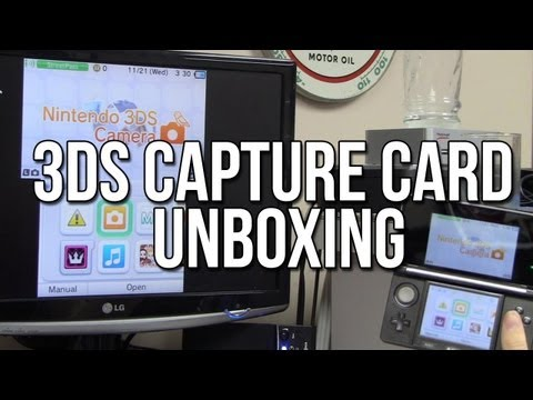 Nintendo 3DS Capture Card Unboxing + Test