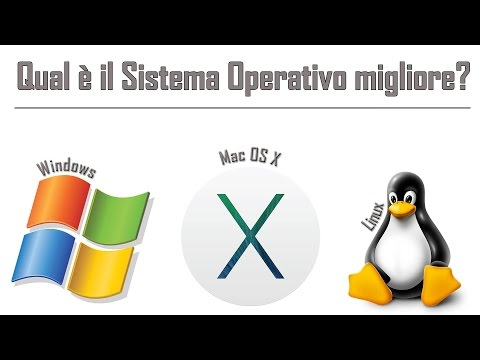 Qual è il migliore Sistema Operativo? Windows, Mac OS X o Linux? - Tech to School Basic