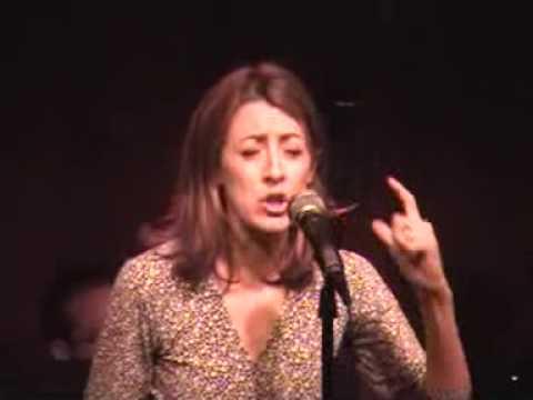 Kate Wetherhead Sings His Name - Live at Birdland- 12/7/09