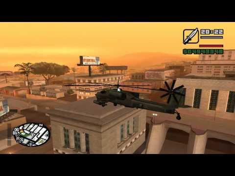 GTA San Andreas Truco Helicoptero Blackop