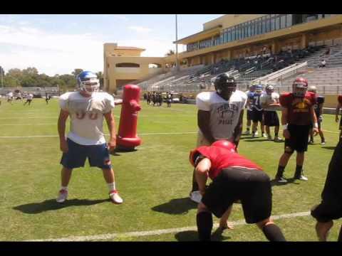 Mike Davis DE/DT, Cal Poly Football Camp Highlights