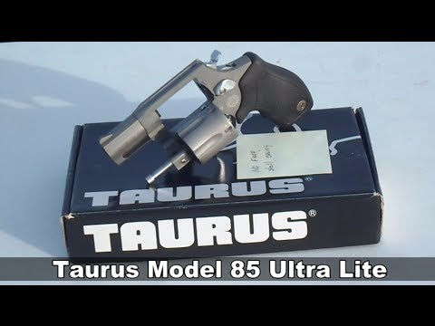 Taurus Model 85 UL Snub Nose Revolver Review (HD)