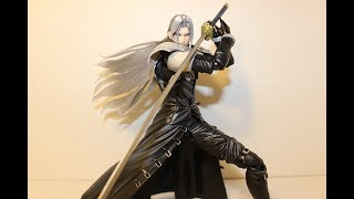 Play Arts Kai Final Fantasy 7 Advent Children Sephiroth Review!