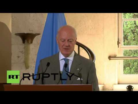 Switzerland: Next Syria talks planned for end of August - UN's de Mistura