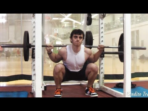 How To Low Bar Squat Image 1