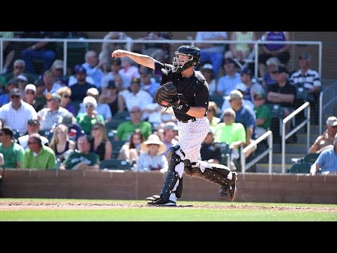 How much is catcher Nick Hundley responsible for Colorado Rockies great pitching