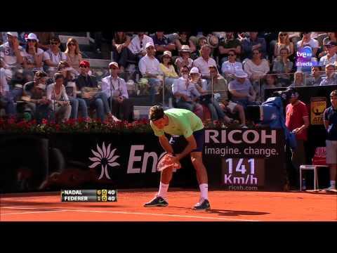 Tenis ATP MASTER 1000 ROMA FINAL RAFA NADAL VS ROGER FEDERER(HD)(2013)
