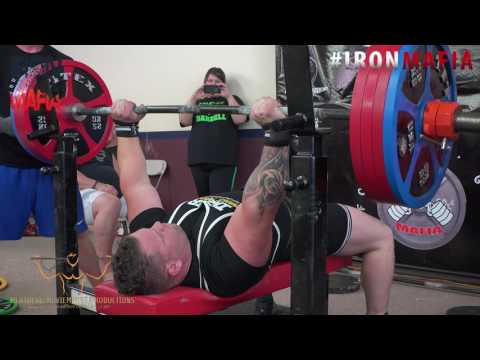 Tim Spoonmore RPS 474lb Bench Press World Record
