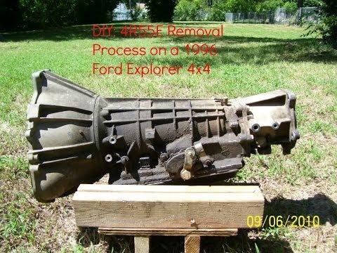 DIY: How to remove your 4R55E transmission: 1996 Ford Explorer 4.0 V6 4X4