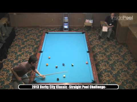 Danny Harriman Straight Pool 2013 Derby City Classic