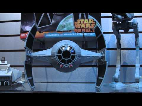Star Wars Toys at NY Toy Fair 2014 - Star Wars Rebels, Star Wars Black, Star Wars Command