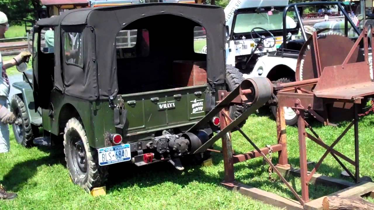 Great Willys Picnic 2012 Pto Driven Circular Saw