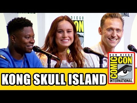 KONG SKULL ISLAND Comic Con Panel - Tom Hiddleston, Brie Larson, John Goodman