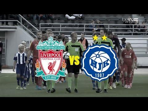 HIGHLIGHTS: HJK Helsinki vs Liverpool FC - 01/08/2015