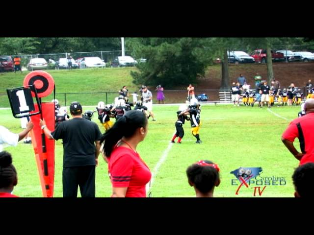 Pop Warner Youth Football: Wilders Grove Wolfpack vs. Cap City Steelers (Tiny Mites)-HipHopNC