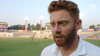 Bairstow reflects on 'tough' day for England
