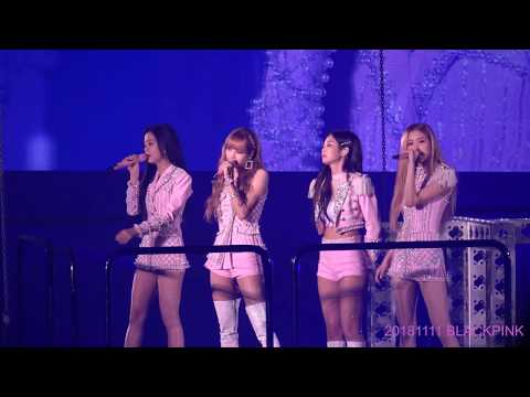 20181111 BLACKPINK CONCERT STAY + SURE THING