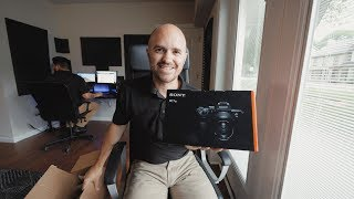 New Camera, Huge Improvements - Sony A7iii Unboxing and First Impressions