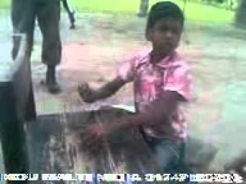 Bangladeshi slum boy