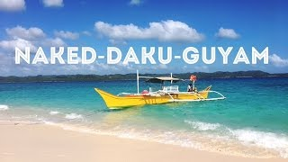 Julie's Travel Series | #15daysinparadise | Island Hopping Tour ( Naked, Daku, Guyam)  | Episode 4