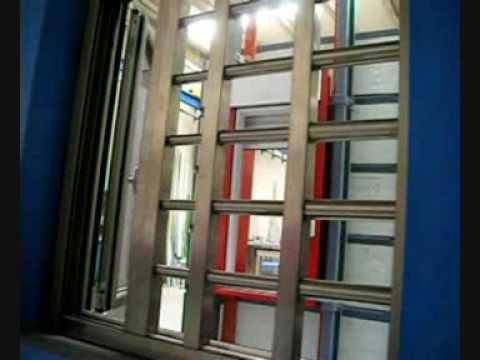 Reja seguridad para chalet piso apartamento youtube - Puertas de chalet ...
