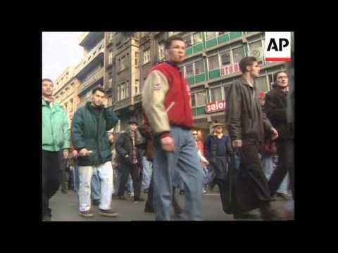 SERBIA: BELGRADE: STUDENTS DEMONSTRATIONS CONTINUE