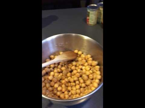 Recipe for Roasted Chickpeas for Weightloss