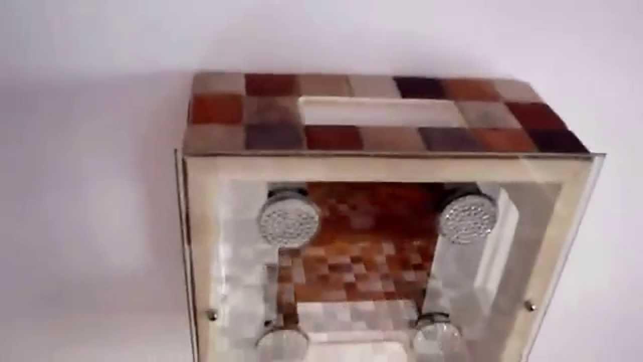 Hacer Lamparas Para Baño:lampara de techo casera baño – YouTube